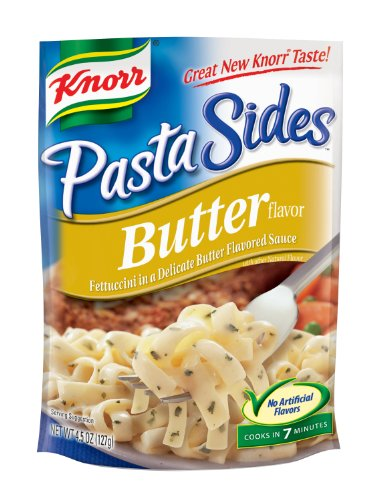 Knorr/Lipton Noodles & Sauce, Butter, 4.5Ounce Packages (Pack Of 12)