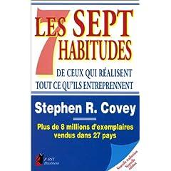 Couverture des 7 habitudes de ceux qui réussissent tout ce qu'ils entreprennent (Stephen R. Covey)