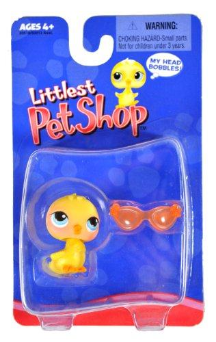 hasbro-year-2004-littlest-pet-shop-single-pack-series-bobble-head-pet-figure-little-yellow-chick-wit