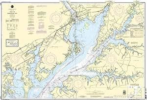 12274 head of chesapeake bay fishing for Chesapeake bay fishing map