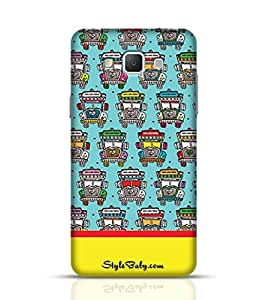 Samsung Cases Online india Road Colorful Truck for Galaxy A5 Multicolor
