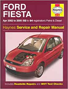 ford fiesta petrol and diesel service and repair manual. Black Bedroom Furniture Sets. Home Design Ideas