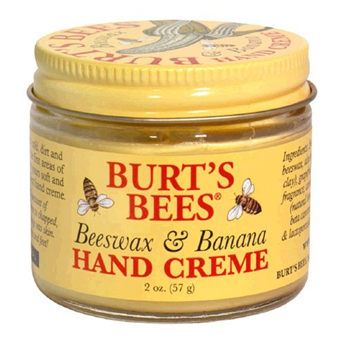 Beeswax And Banana Hand Creme, 2-ounce Jar (pack Of 4) By Burt's Bees