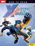 img - for How To Draw X-men book / textbook / text book
