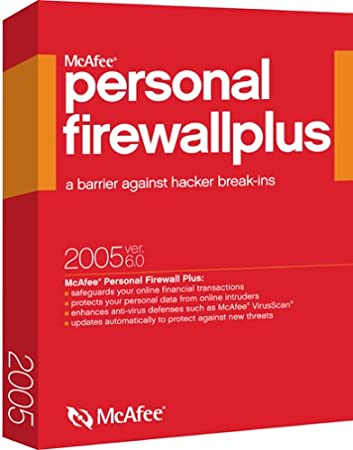 McAfee Firewall Plus 2005 6.0