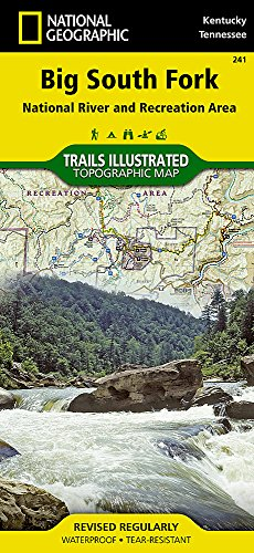 Big South Fork National River and Recreation Area (National Geographic Trails Illustrated Map) (Map Central South America compare prices)