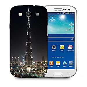 Snoogg Tallest Building In The World Printed Protective Phone Back Case Cover For Samsung S3 / S III