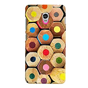 ColourCrust Lenovo Vibe P1 Turbo Mobile Phone Back Cover With Colourful Pattern Style - Durable Matte Finish Hard Plastic Slim Case