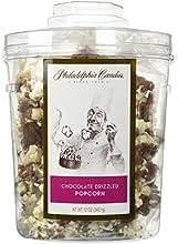 Philadelphia Candies Milk Chocolate Drizzled Popcorn 12 oz Gift Tub