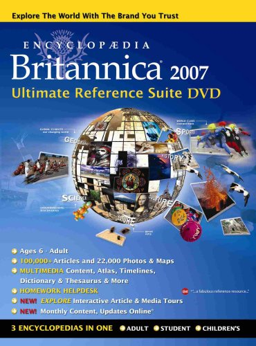 Encyclopaedia Britannica Ultimate Reference Suite : DVD-ROM