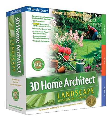 3D Home Architect Landscape Design Deluxe 6