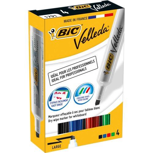 bic-875789-velleda-feutres-effacable-a-sec-couleurs-assorties-pack-de-4