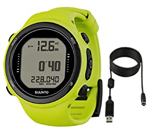 Buy Suunto D4i Novo Dive Watch with USB PC Download Kit, Lime by Suunto