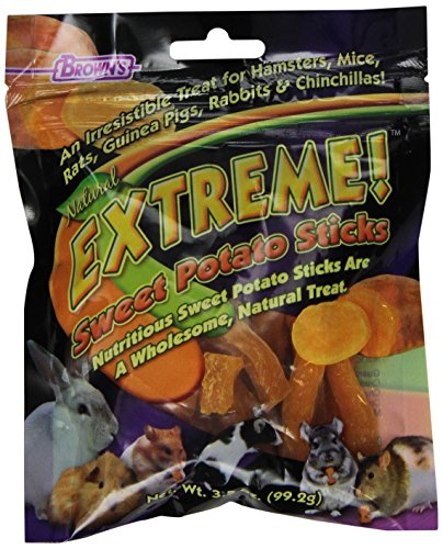 F.M.Brown's 44510 Extreme Sweet Potato Sticks Small Animal Treat, 3.5-Ounce 51EAFYAR8DL