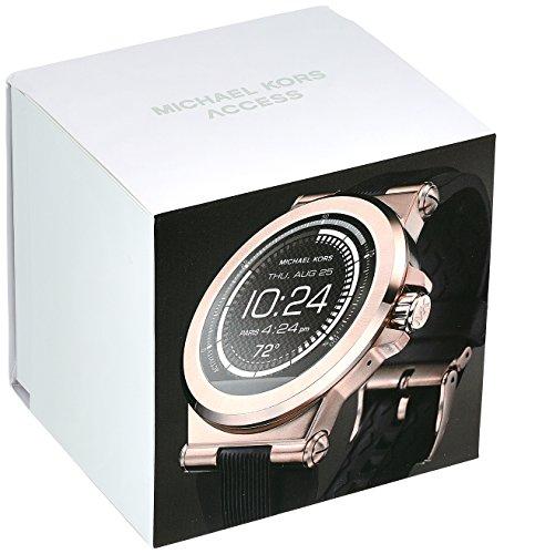 michael kors access men s smartwatch dylan rose gold. Black Bedroom Furniture Sets. Home Design Ideas