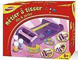 Joustra - 46010 - Kit de Loisir Créatif - Métier à Tisser - Fil et Perles...