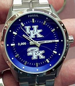 Kentucky Wildcats 2K 1000 win Commemorative Fossil Watch by Fossil