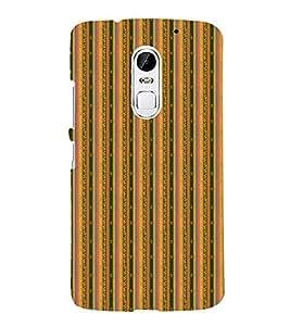 Decorative Line Pattern 3D Hard Polycarbonate Designer Back Case Cover for Lenovo Vibe X3