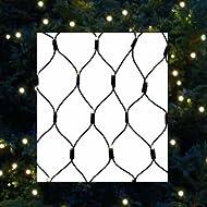 Hi filet lumineux de noël à lED filet de protection pour bassin 2 x 3 m guirlande lumineuse pour intérieur et extérieur-wW