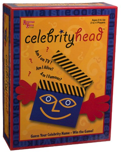 Celebrity Head Celebrityhead Board Game