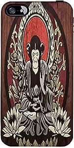 Snoogg Meditating Monkey 2656 Designer Protective Back Case Cover Forforapple...