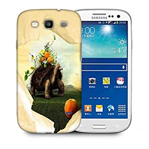 Snoogg Tortoise Printed Protective Phone Back Case Cover For Samsung S3 / S III