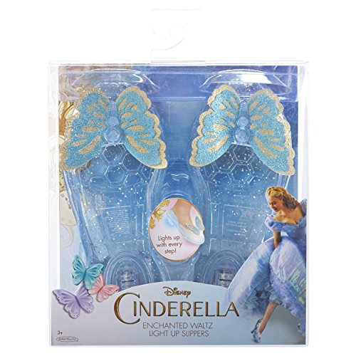 Live Action Cinderella Enchanted Waltz Light Up Slippers