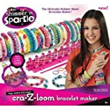 Shimmer n Sparkle Cra-Z-Loom Rubber Band Bracelet Maker Picture