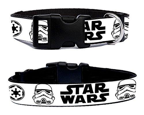 La Guerra De Las Galaxias Star Wars Stormtrooper Soldado Imperial Collare Di Cane Di Misura Adattabile M Dog Collar