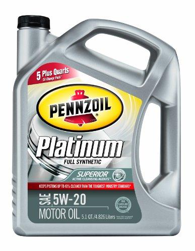 Best 5w20 motor oil autos post for Pennzoil platinum 5w20 full synthetic motor oil