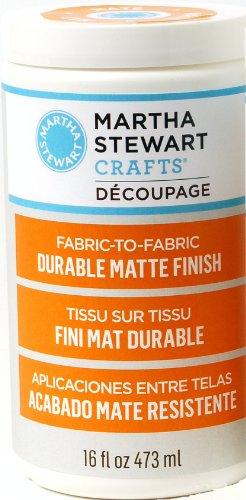 Plaid Martha Stewart Decoupage Fabric To Fabric Formula, 16-Ounce, Matte Finish front-1054544