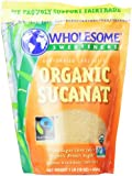 Wholesome Sweeteners Fair Trade Org Sucanat (Brown Sugar)Pouches - 16 oz