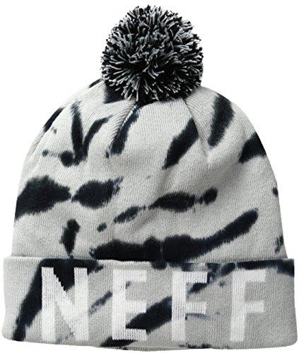 neff Men's Disintegrate Beanie, Grey, One Size (Neff Beanie Tie Dye compare prices)