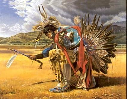 Native American Indian Rain