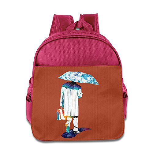 [TuSamLOO The Umbrella Man Kid's Mini Backpack/Travel Bag Pink] (Victorias Secret Costume Ideas)