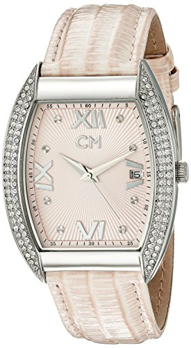 Carlo Monti Brescia Women's Quartz Watch with Pink Dial Analogue Display and Pink Leather Strap CM508-168
