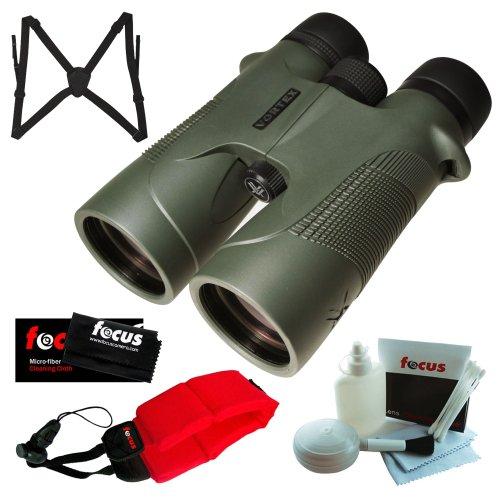 Vortex Optics D5010 10X 50Mm Diamondback Binocular With Binocular Harness, Red Foam Strap And Cleaning And Care Kit Accessory