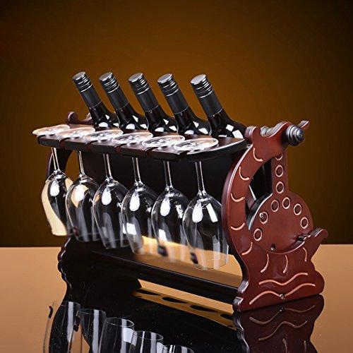 legno-rack-vino-moda-inverted-cup-rack-di-legno-vino-rack-il-mestiere-di-legno-decoration