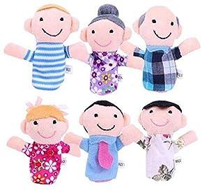 KingWinX Children Funny Velvet Finger Puppets
