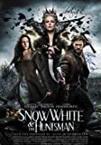 SNOW WHITE AND THE HUNTSMAN SIGNED POSTER PRINT