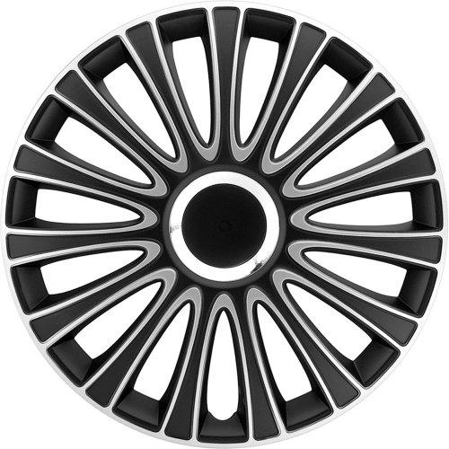 AutoStyle-LEMANS-Set-Copricerchio-Lemans-NeroSilver-4-pezzi