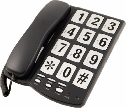 Easy to read big button phones