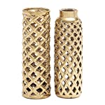Deco 79 92555 Ceramic Vase 2 Assorted 4