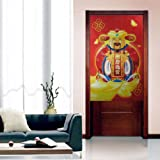 Traditional China Style Bedroom Door Curtain