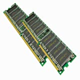51EAsOCbVAL. SL160  PNY OPTIMA 2GB (2x1GB) Dual Channel Kit DDR 400 MHz PC3200 Desktop DIMM Memory Modules MD2048KD1 400