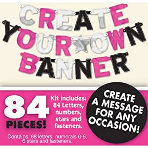 Zebra Create Your Own Banner Kit