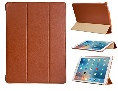 futlex-genuine-leather-smart-cover-case-for-ipad-pro-129-brown-full-grain-leather-unique-design-mult