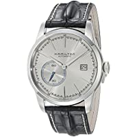Hamilton Railroad H40515781 Analog Automatic Men's Watch (Black/Silver)