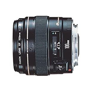 Canon EF 100mm f/2 USM Telephoto Lens for Canon SLR Cameras
