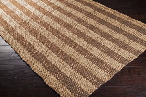 Country Living by Surya Country Jutes CTJ-2026 Natural Fiber Hand Woven 100% Jute Tan 3'6